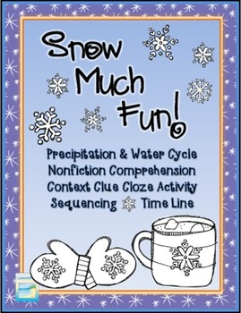 Snow Much Fun!  Winter Activity Packet