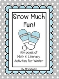 First Grade Centers: Winter