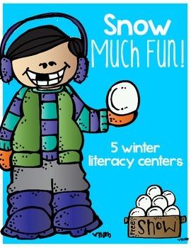 Snow Much Fun! {Winter Literacy Centers}