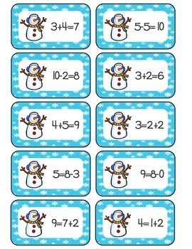 Snow Much Fun-Winter Math & Literacy Centers