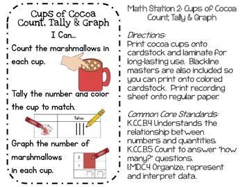 Snow Much Fun: Winter Math Work Stations for PreK & Kindergarten (CC Aligned)