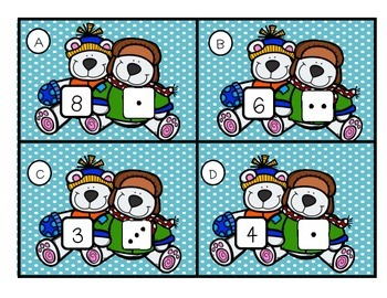 Snow Much Fun!--Winter Themed Math & Literacy Centers for K-1