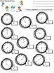 Telling Time:   Activities for teaching time for 2nd and 3
