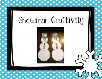 Snow Much Fun Writing and Craftivity