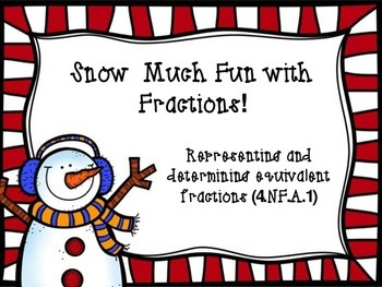 Snow Much Fun with Fractions!
