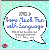 Snow Much Fun with Language (Level 1)