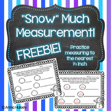 """Snow"" Much Measurement Freebie! (Measuring to the nearest"