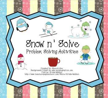 Snow N Solve: a Problem Solving Pack