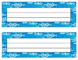Snow Name tags / Labels