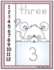 Snow Peekers Numbers Flip Chart