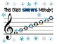 Snow Penguins themed Melody Bulletin board (Solfege & Curwen Handsigns)