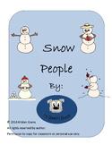Snow People Clip Art