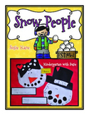 Snow People Craft and Bulletin Board