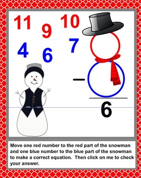 Snow People Subtraction