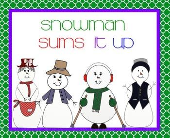 Snow People Sum It Up