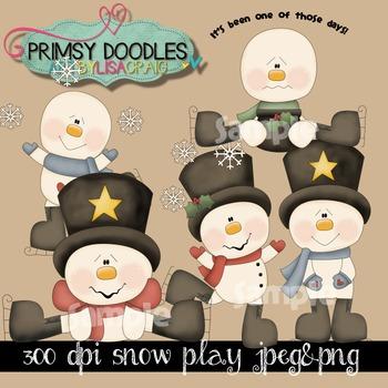 Snow Play '15 Clipart