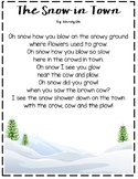 Snow Poem with OW words