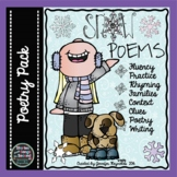 Snow Poems--Winter Reading, Rhyming and Writing Activity Pack