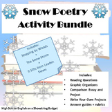 Snow Poetry Activity Bundle (Frost, Emerson, Dickinson) - Word