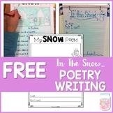 Winter Snow Poetry Writing