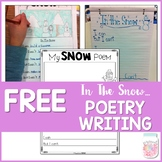 Winter Snow Poetry Writing