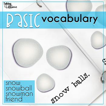 Snow Interactive Preschool Book