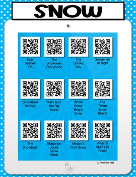 Snow QR Code Listening Center