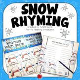 Winter Activities - Snow Rhyming
