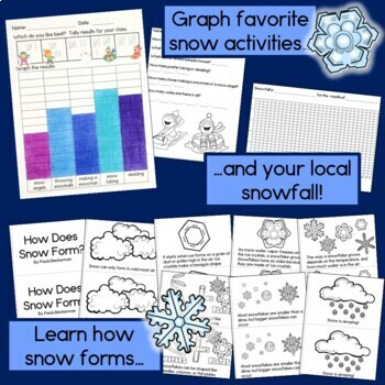 Snow STEAM Investigations