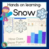 Snow STEM Math Science and Reading Activities