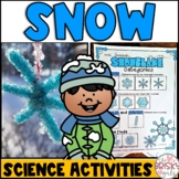 Snow Science Activities and Paired Reading Passages