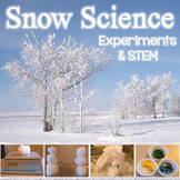 Snow Science Experiments & STEM Activity (Winter Science)