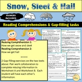 Reading Comprehension - Non Fiction:Snow, Sleet and Hail Worksheets