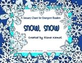 """Snow, Snow"" A Winter Chant: Common Core Activities, Cente"