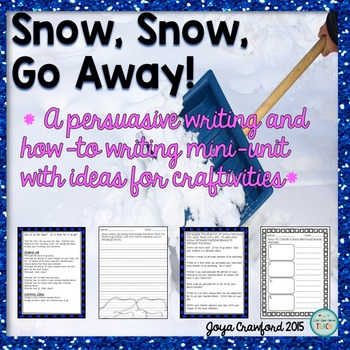 Winter Persuasive and How-To Writing Unit