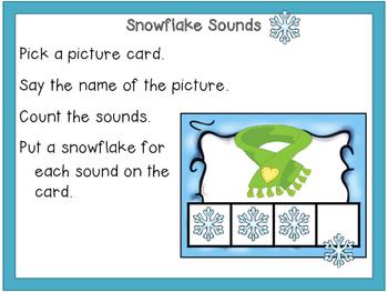 Snow Sounds {ELA Centers}