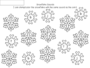 Snow Sounds {Freebie}