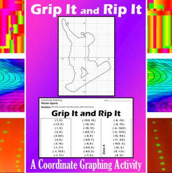 Grip It and Rip It - A Coordinate Graphing Activity