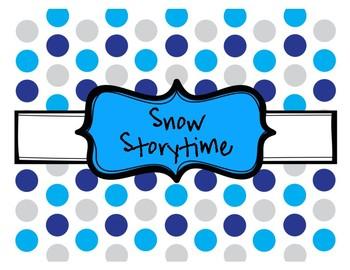 Snow Storytime Plans