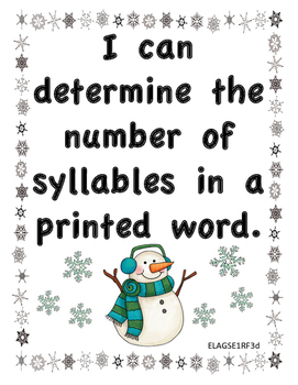 Snow Syllables