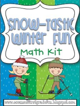 Snow-Tastic Winter Fun Math Kit