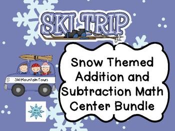 Snow Themed 2nd Grade Math Bundle