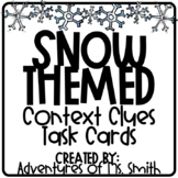 Snow-Themed Context Clues Task Cards