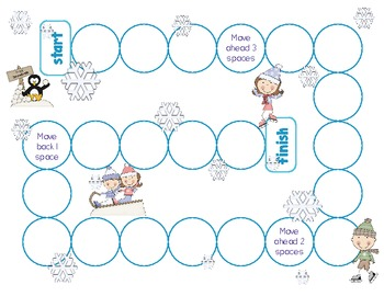 Snow Themed Math Stations {Second Grade}