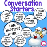 """Snow """"Think"""" Balls Writing Prompts and Conversation Starters"""