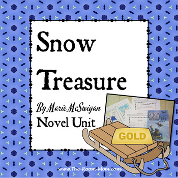 Snow Treasure Novel Unit