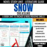 Snow Treasure Foldable Novel Study Unit