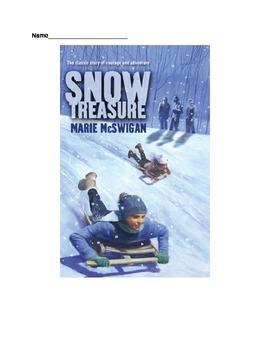 Snow Treasure Novel Unit Higher Order Thinking ?s