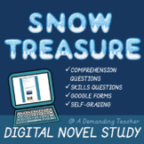 Snow Treasure digital novel study for Google Classroom & D