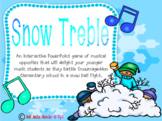Snow Treble: An Interactive PowerPoint Snowball Fight